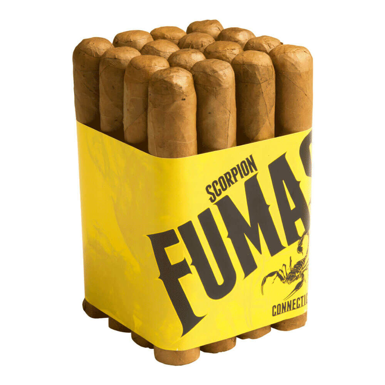 Camacho Scorpion Fumas Connecticut Gordo Cigars - 6 x 60 (Bundle of 16)