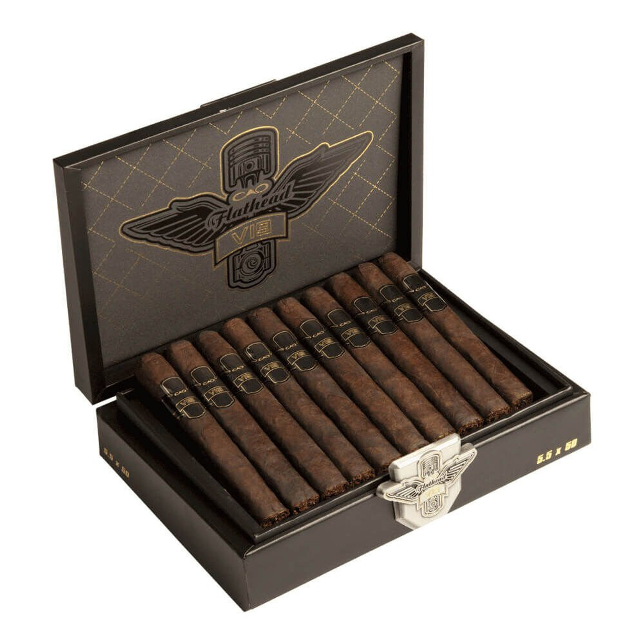 CAO Flathead V19 Carb Cigars - 6 x 60 (Box of 20)