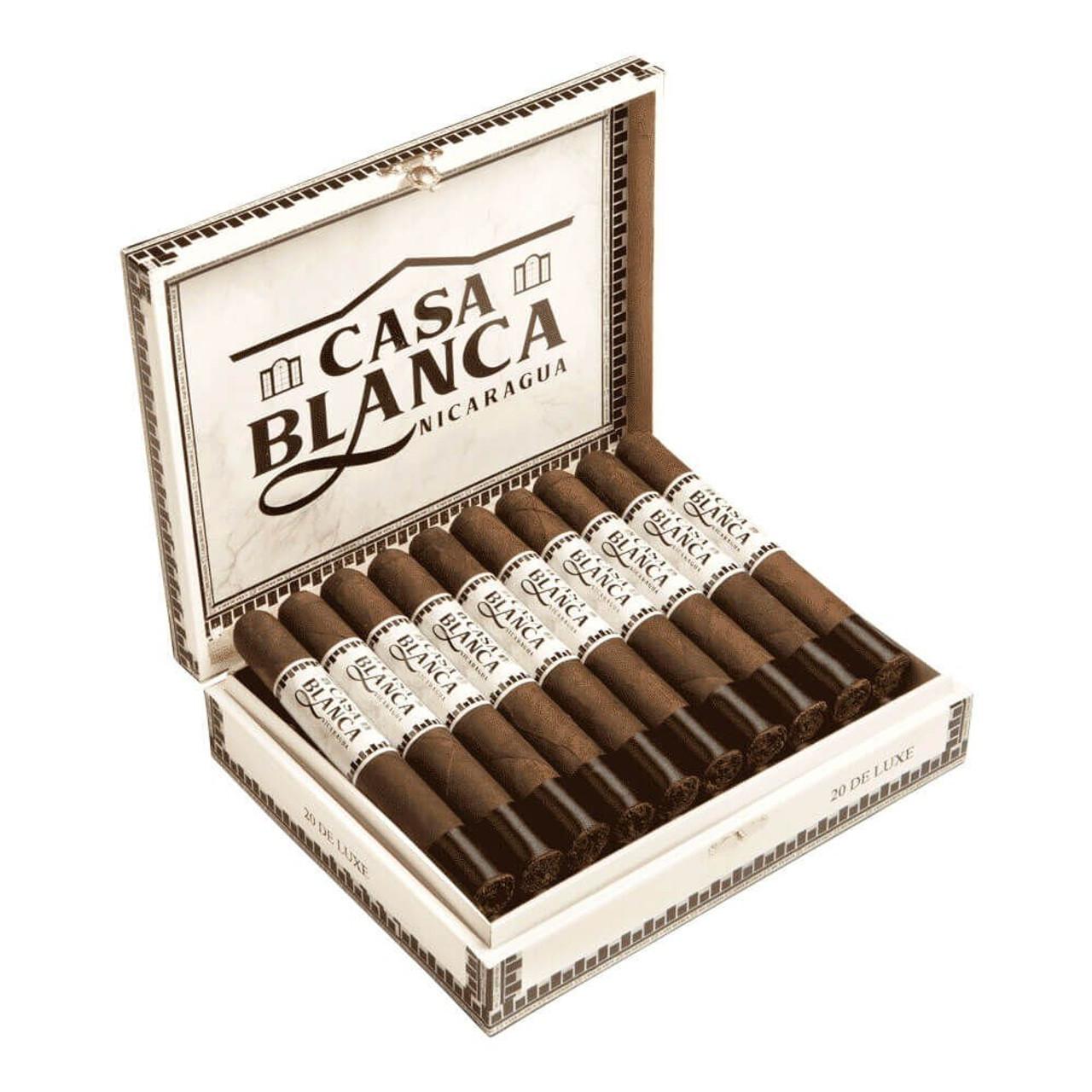 Casa Blanca Nicaragua Lonsdale Maduro Cigars - 6.5 x 43 (Box of 20)