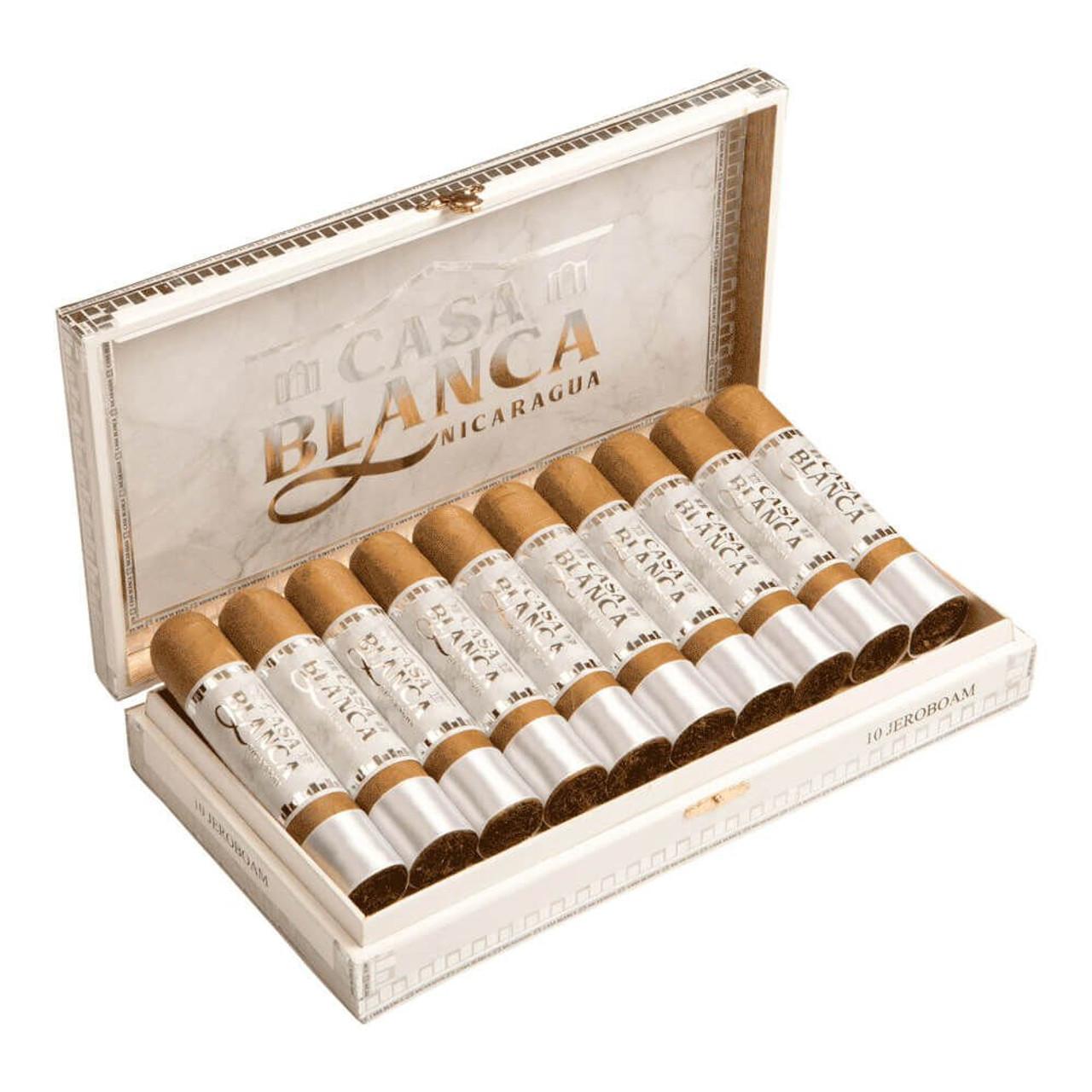 Casa Blanca Nicaragua Robusto Natural Cigars - 5 x 52 (Box of 20)