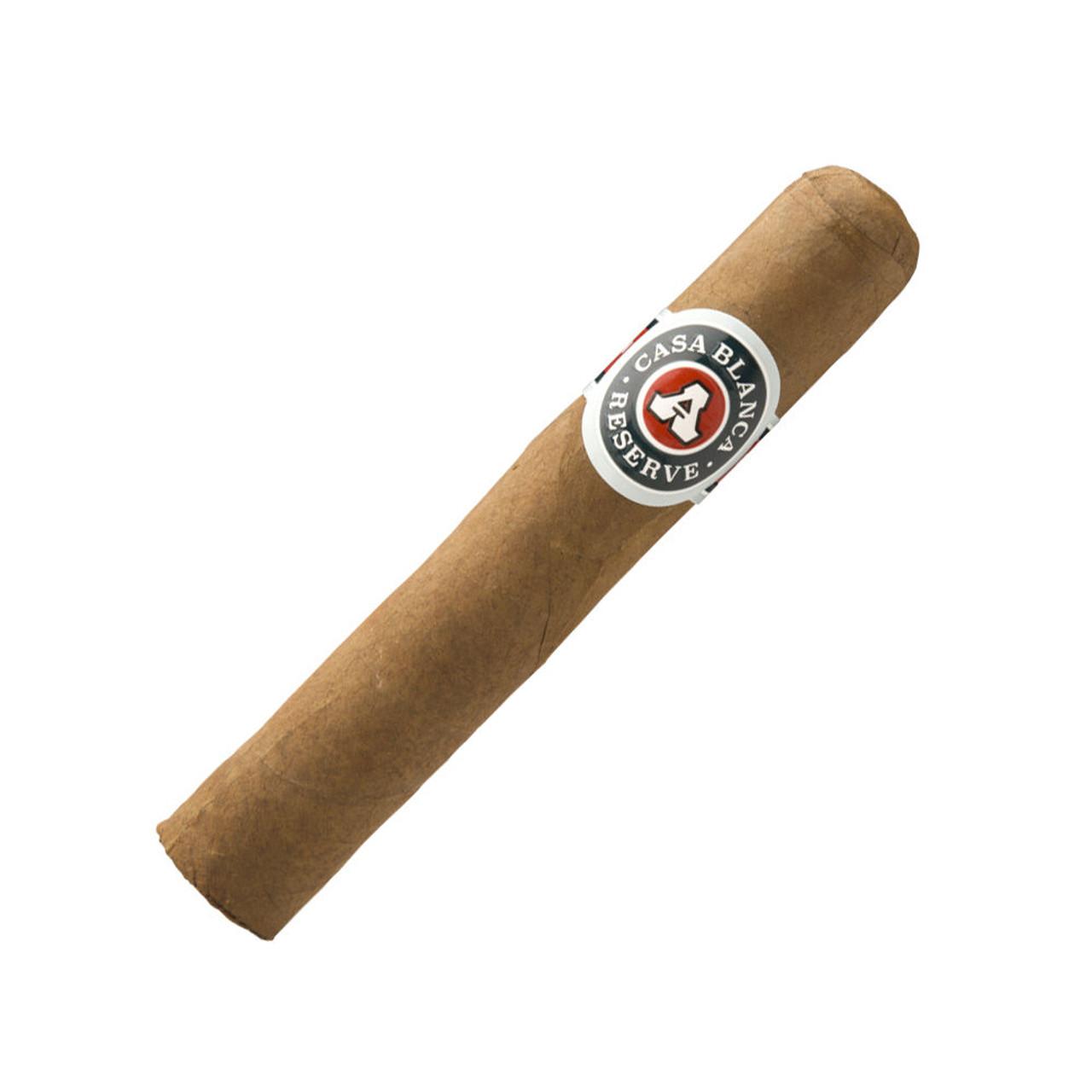 Casa Blanca Reserve Robusto Cigars - 5 x 52 (Bundle of 20)