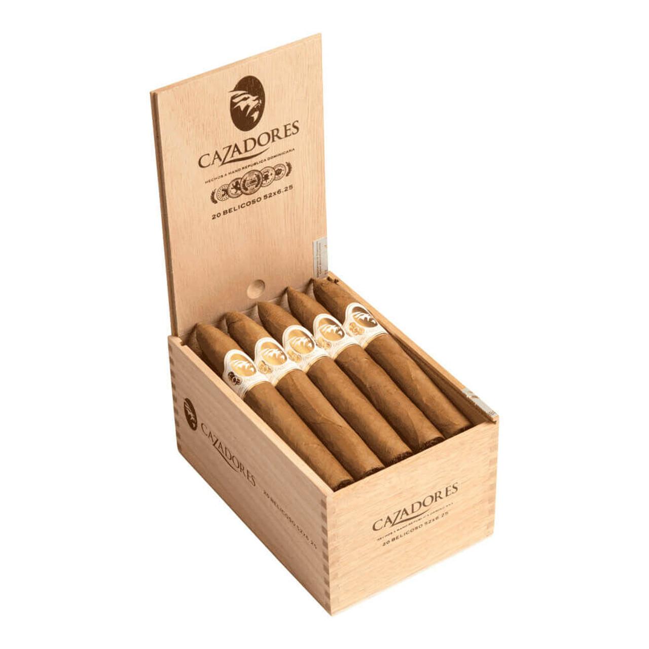 Cazadores by La Aurora Belicoso Cigars - 6.25 x 52 (Box of 20)