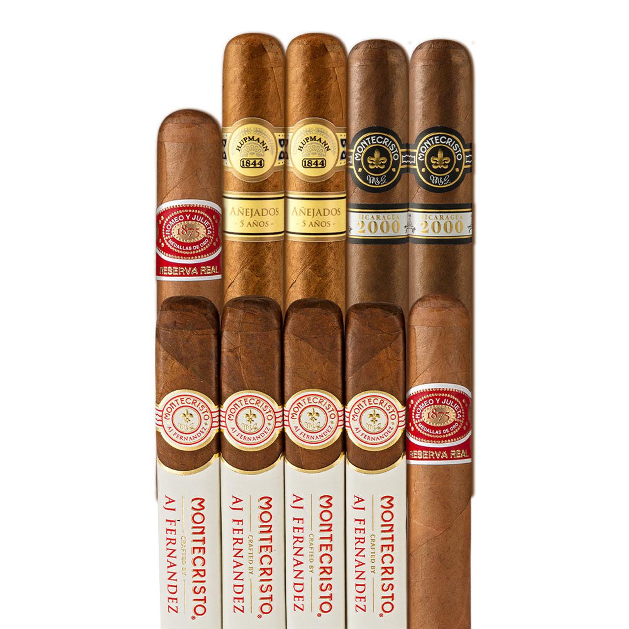 Cigar Samplers Best Selling Heritage Sampler Cigars (Pack of 10)