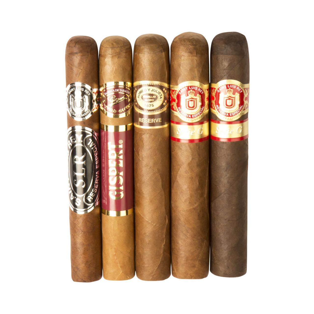 Cigar Samplers Honduran Lovers Assortment Cigars (Pack of 5)