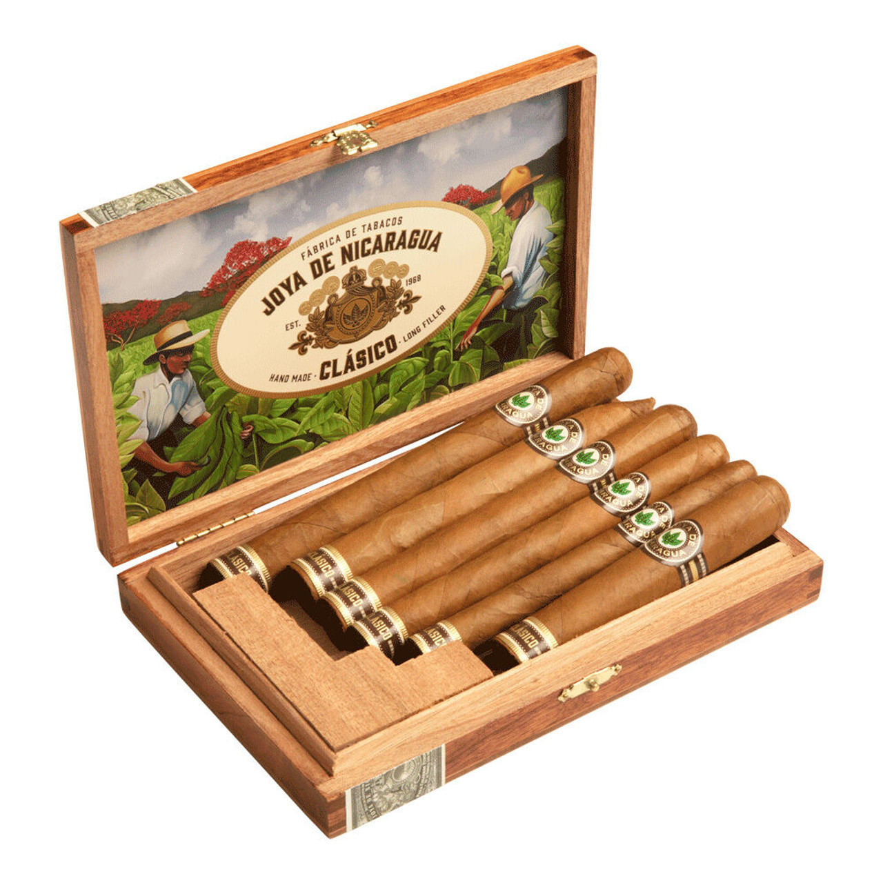 Cigar Samplers Joya de Nicaragua Clasico Tasting Sampler Cigars (Pack of 6)