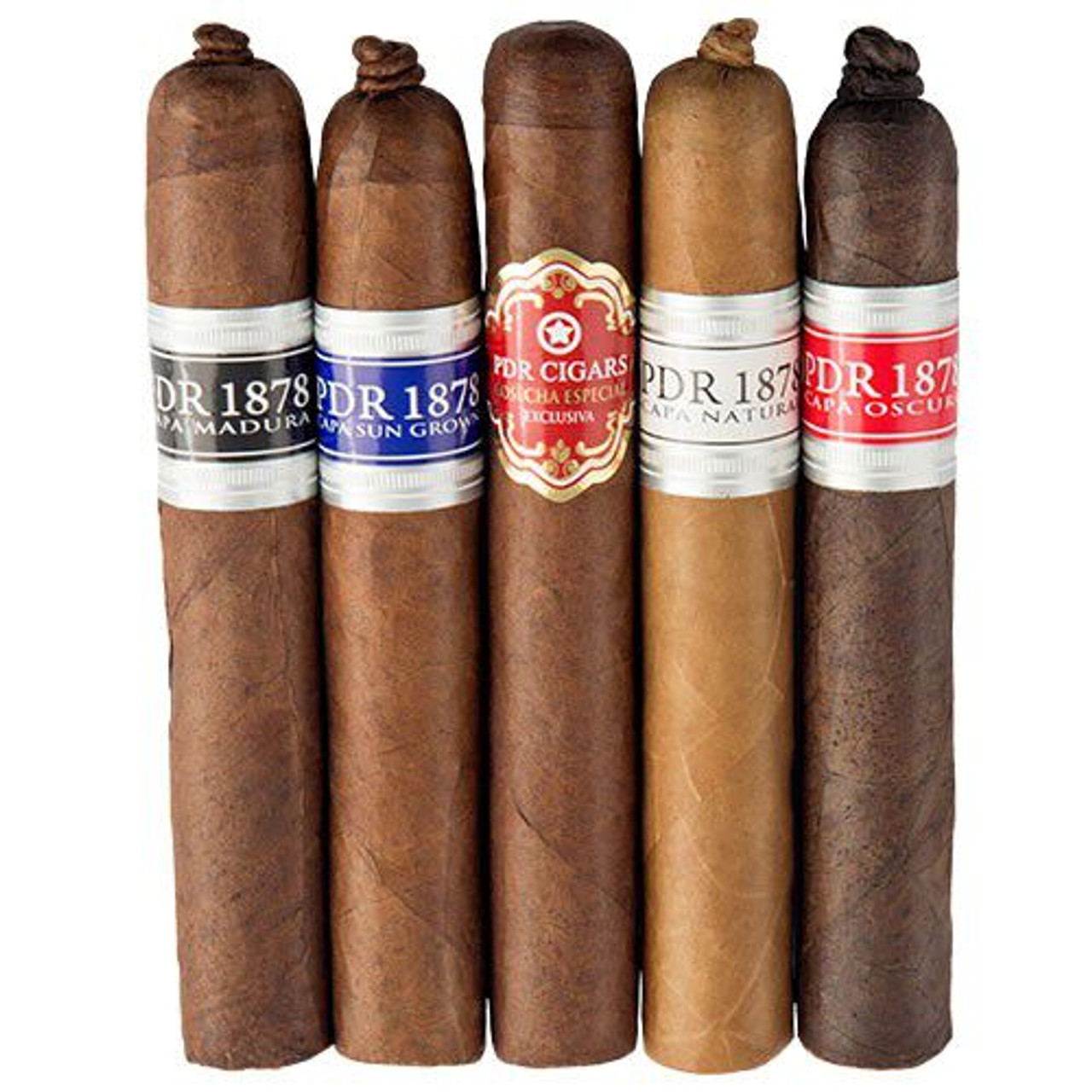 Cigar Samplers PDR 5-Cigar Collection Cigars (Pack of 5)