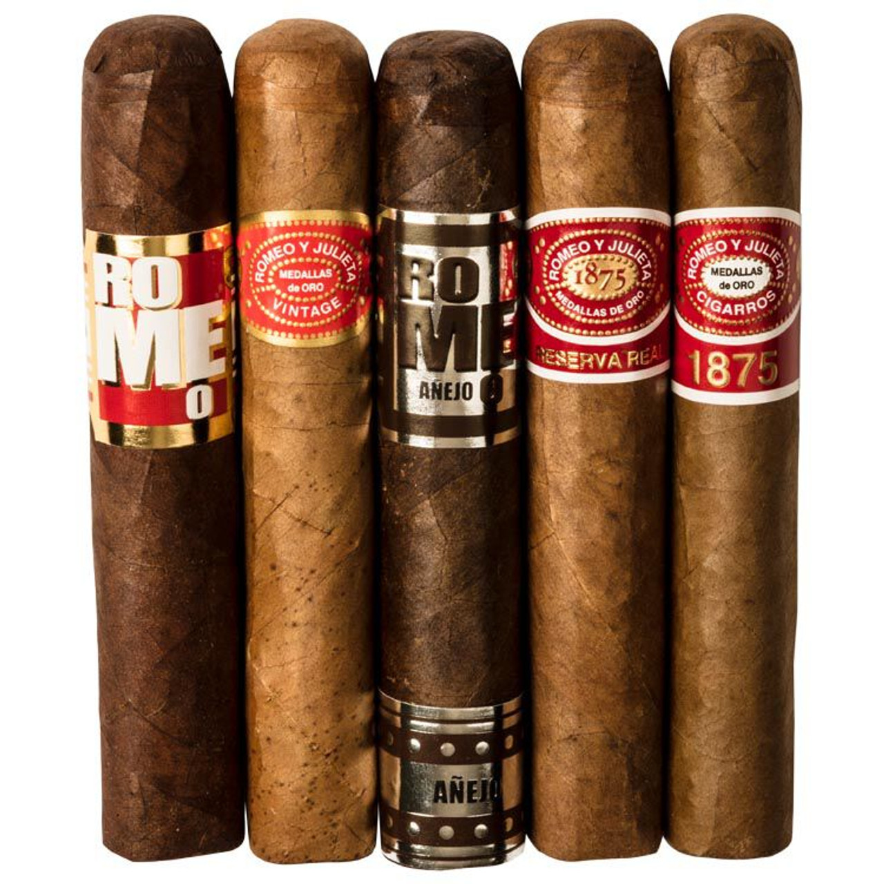 Cigar Samplers Romeo Lovers 5-Cigar Sampler Cigars (Pack of 5)