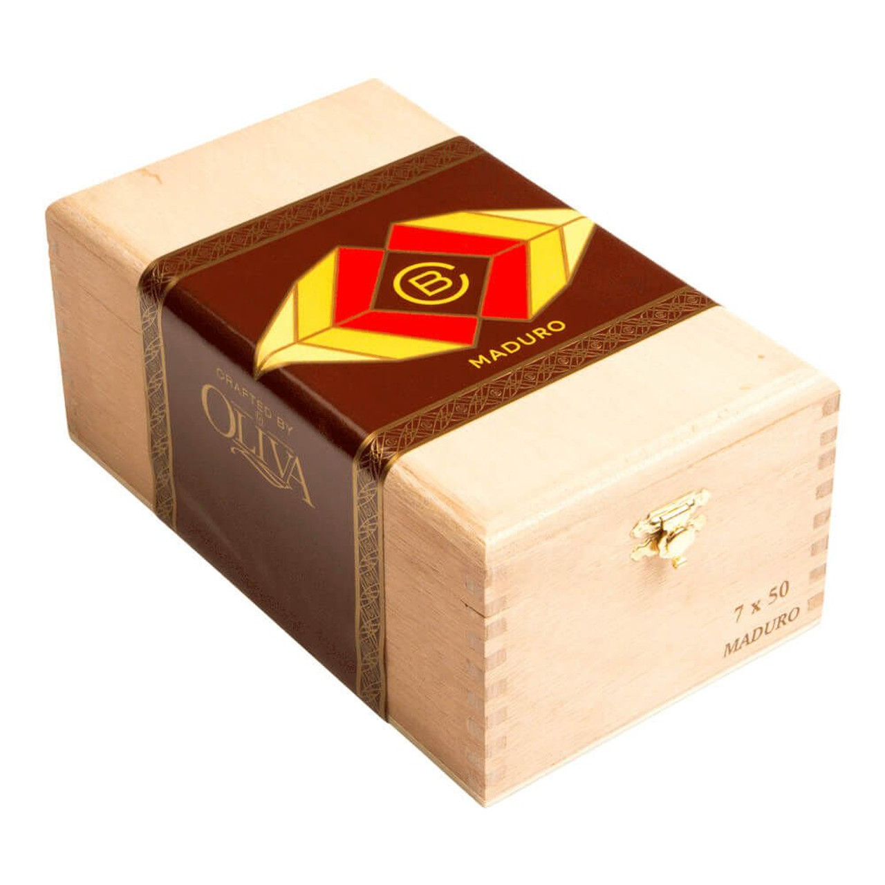 Crafted by Oliva Maduro Torpedo Cigars - 6.5 x 52 (Box of 20)