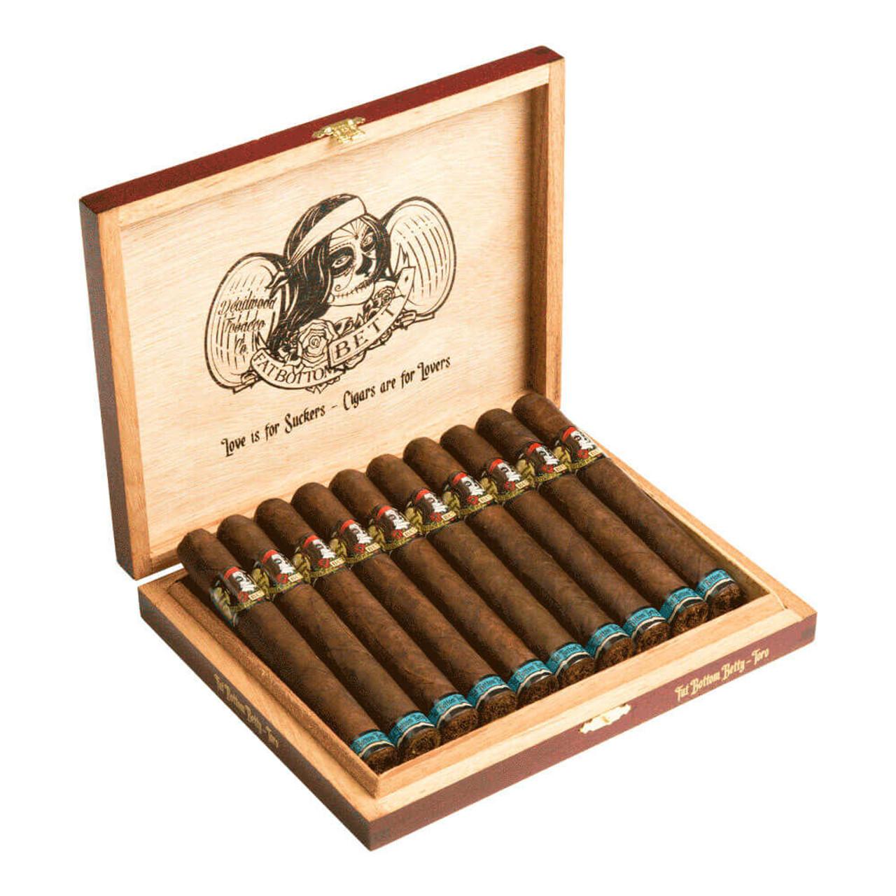 Deadwood Tobacco Co. Fat Bottom Betty Toro Cigars - 6 x 50 (Box of 10)