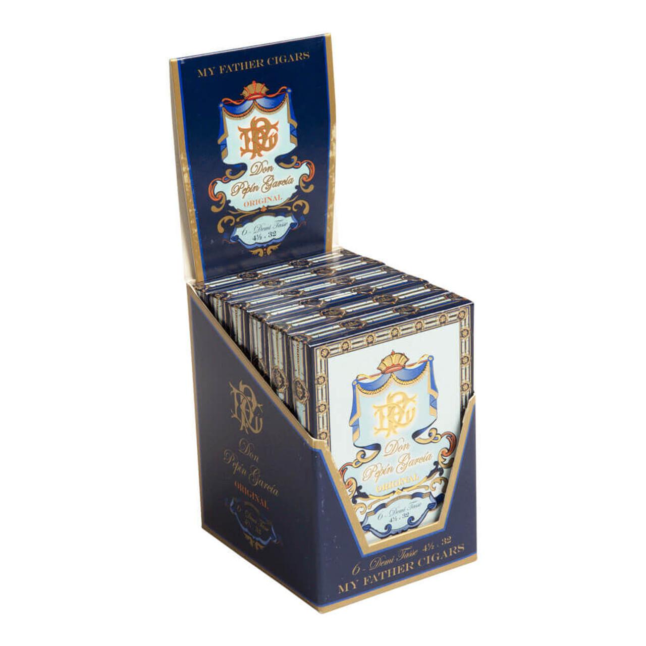 Don Pepin Garcia Blue Demitasse Cigars - 4.5 x 32 (6 Packs of 6)