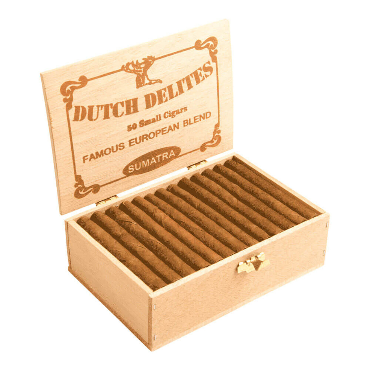 Dutch Delites Classic Sumatra Cigars - 5 x 30 (Box of 50)