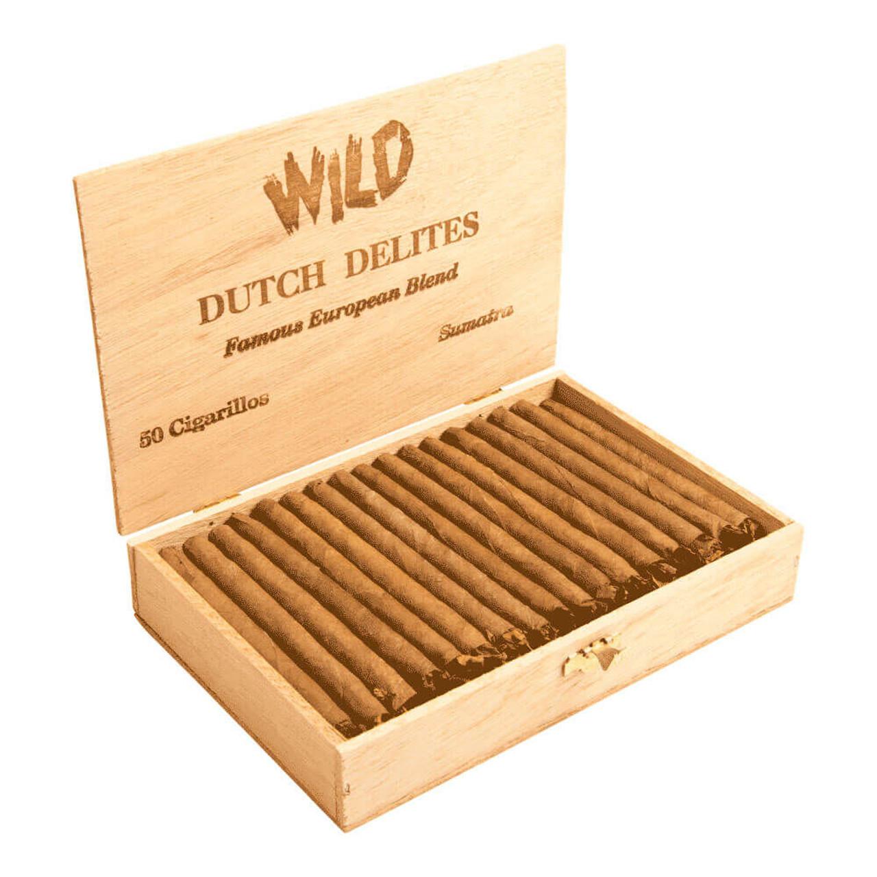 Dutch Delites Wild Sumatra Cigars - 5 x 30 (Box of 50)