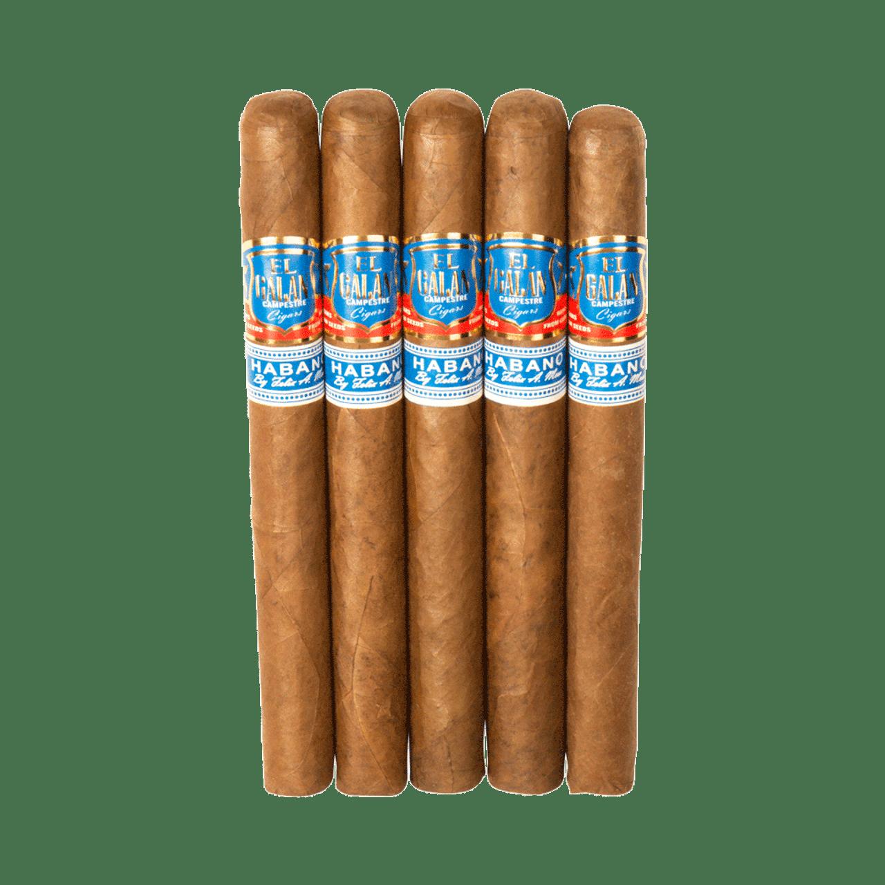 El Galan Campestre Churchill Cigars - 7 x 48 (Pack of 5)