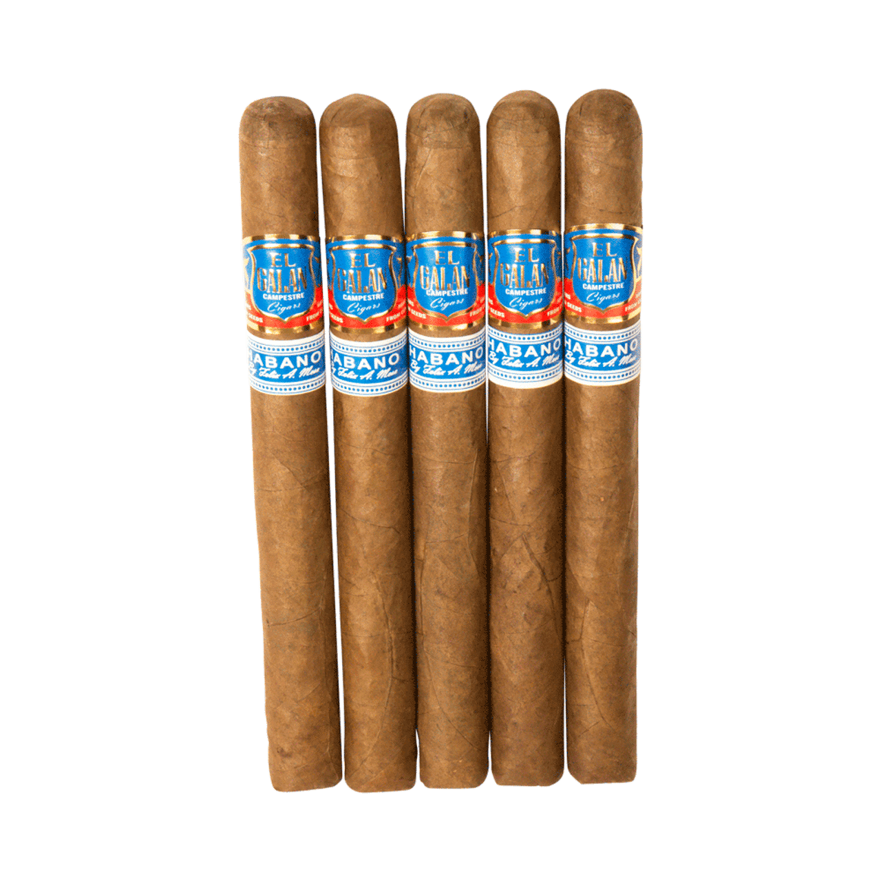 El Galan Campestre Double Corona Cigars - 7.5 x 50 (Pack of 5)