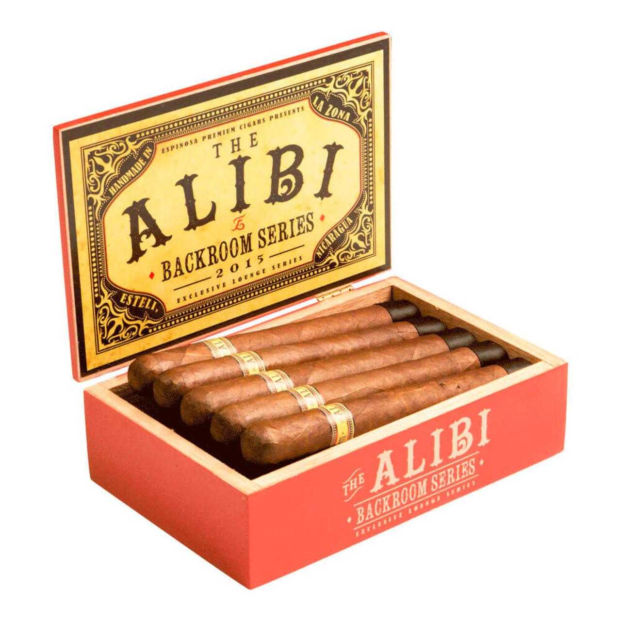 Espinosa The Alibi Churchill Cigars - 6 x 48 (Box of 10)