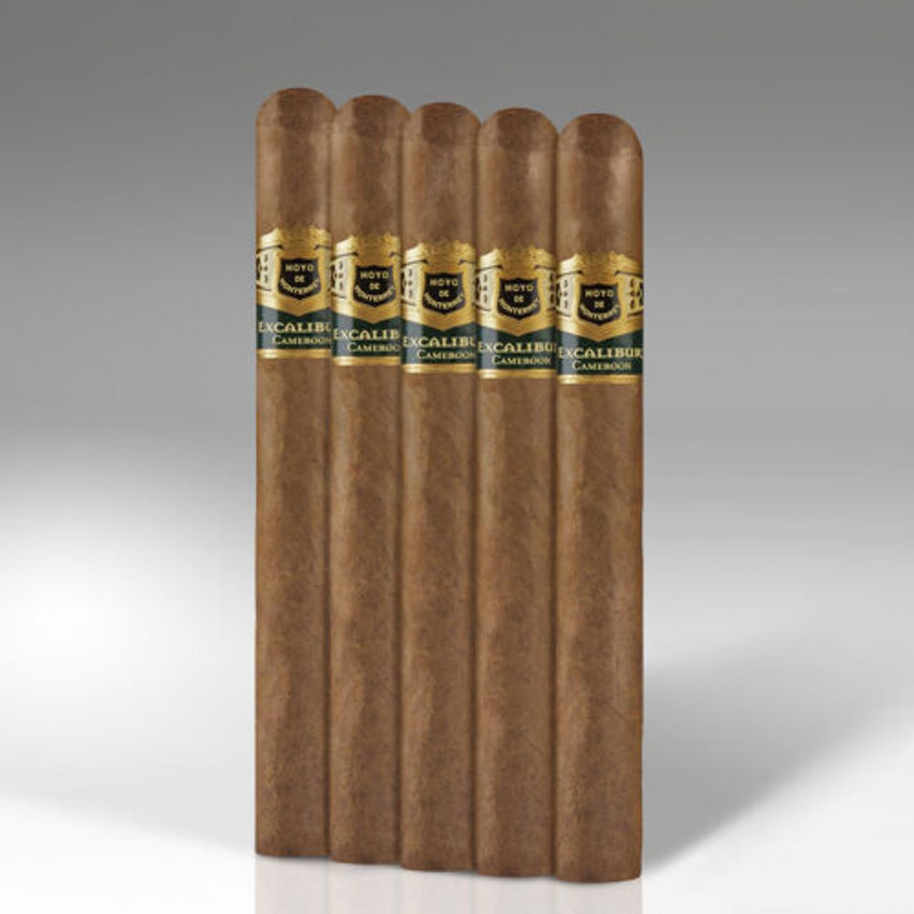 Excalibur Cameroon Lancelot Cigars - 7.25 x 54 (Pack of 5)