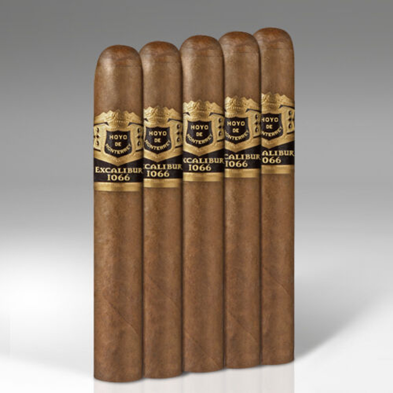 Excalibur Cameroon Merlin Cigars - 5.25 x 50 (Pack of 5)
