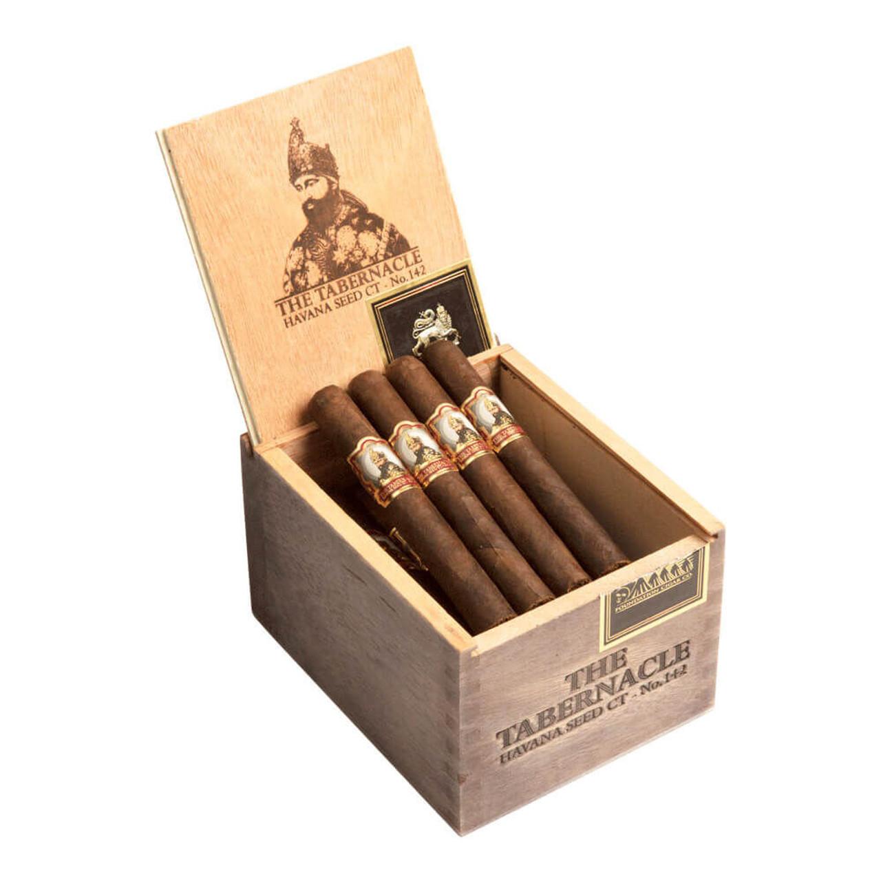 Foundation The Tabernacle No. 142 Havana Seed CT Corona Cigars - 5.25 x 46 (Box of 24)