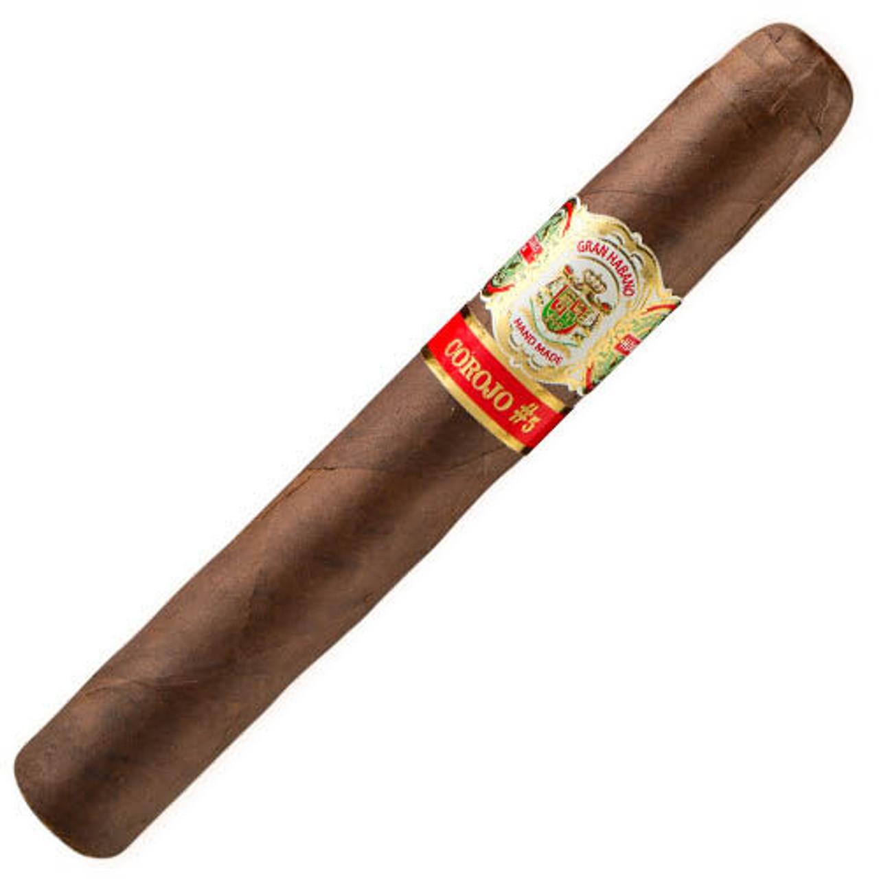 Gran Habano #5 Corojo Gran Robusto Cigars - 6 x 54 (Pack of 5)
