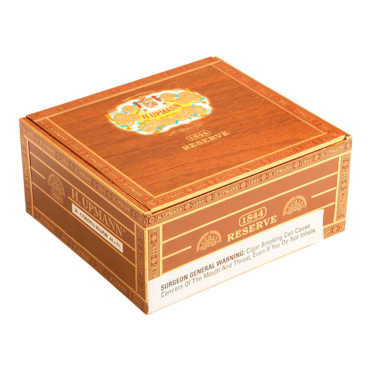 H. Upmann 1844 Reserve Corona Major EMS Cigars - 5.5 x 44 (Box of 21)