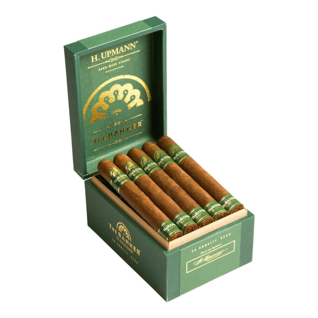 H. Upmann The Banker Currency Cigars - 5.5 x 48 (Box of 20)