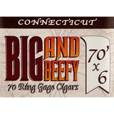 Big and Beefy Connecticut No. 570 Cigars - 5 x 70 (Bundle of 10)