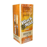 Black and Mild Wood Tip Jazz Cigars (Box of 25) - Natural