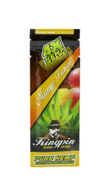 Kingpin Mango Tango Hemp Wraps (1 Count, 4 Total) High Hemp Herbal FRESH