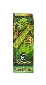 Kingpin Original G Hemp Wraps (1 Count, 4 Total) High Hemp Herbal FRESH