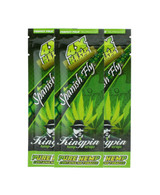 Kingpin Spanish Fly Hemp Wraps (3 Count, 12 Total) High Hemp Herbal FRESH