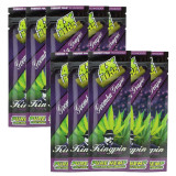 Kingpin Goomba Grape Hemp Wraps (10 Count, 40 Total) High Hemp Herbal FRESH