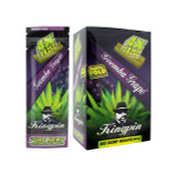 Kingpin Goomba Grape Hemp Wraps (Box of 25, 100 Total) High Hemp Herbal FRESH