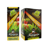 Kingpin Mango Tango Hemp Wraps (Box of 25, 100 Total) High Hemp Herbal FRESH