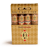 Cigar Samplers CAO Gold Sampler 4 Cigar (Box of 4)