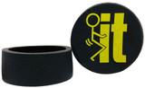 DC Skins Snuff Covers - Waterproof Protective Skins for Dip and Chew Cans - FIT Black