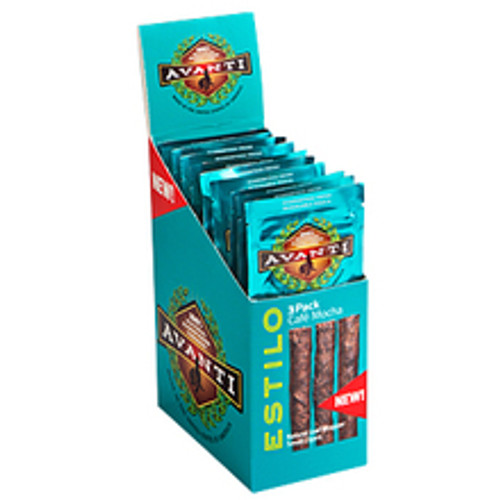 Avanti Cafe Mocha Cigars (10 Packs Of 3) - Natural