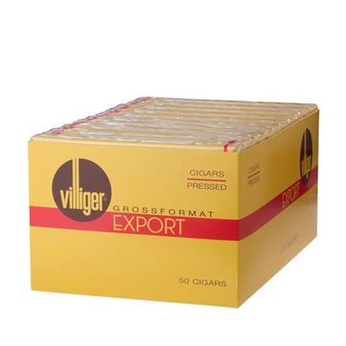 Villiger Export Cigars (10 Packs of 5) - Natural