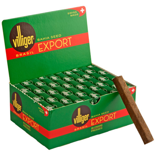 Villiger Export Brazil Cigars (Box of 50) - EMS