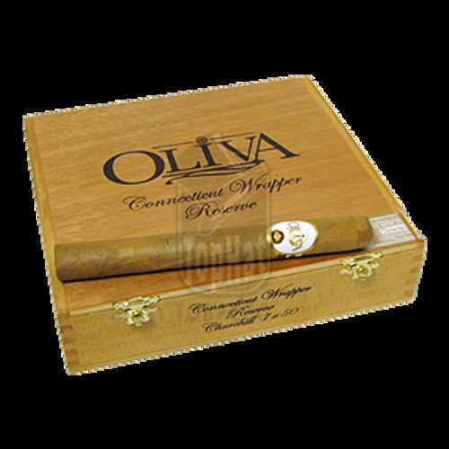 Oliva Connecticut Reserve Churchill Cigars - 7 x 50 (Box of 20)