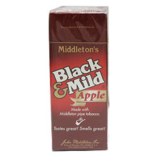 Black and Mild Apple Cigars (Box of 25) - Natural