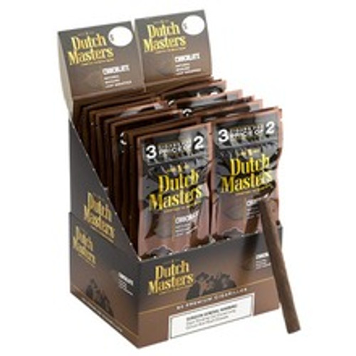 Dutch Masters Cigarillos Chocolate Cigars (20 packs of 3) - Natural