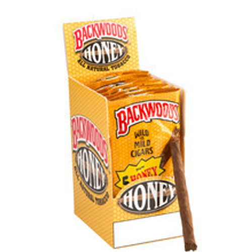 Backwoods Honey Cigars (8 Packs of 5) - Maduro