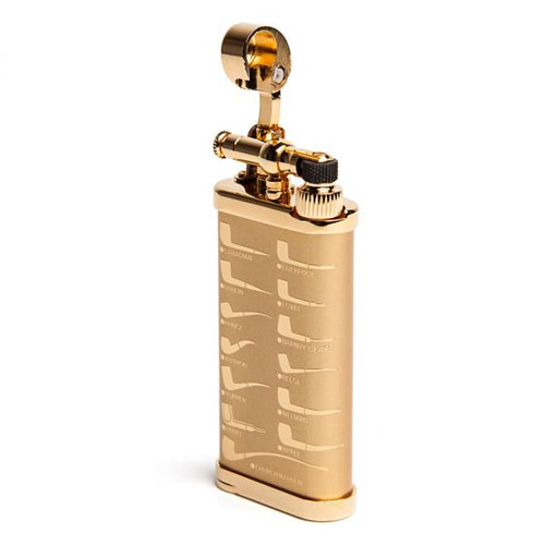 IM Corona Old Boy Gold Pipe Shape Lighter