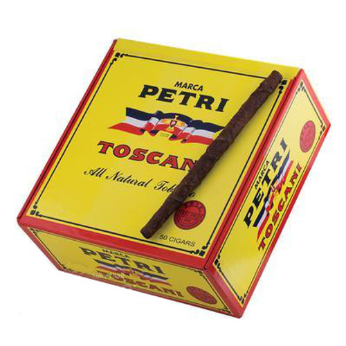 Petri Toscani Twos Cigars (25 Packs Of 2) - Natural