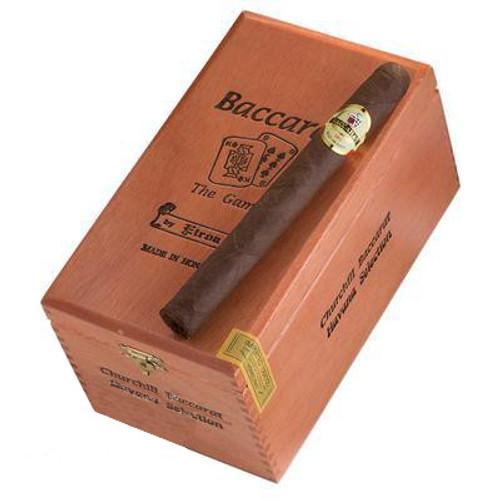 Baccarat Churchill Maduro Cigars - 7 x 50 (Box of 25)