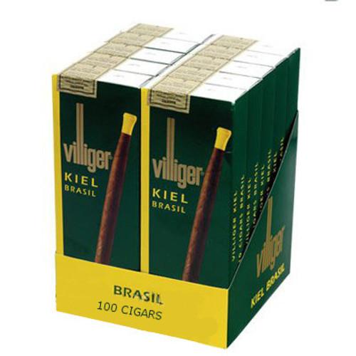Villiger Kiel Brasil Cigars (10 Packs Of 10) - Maduro