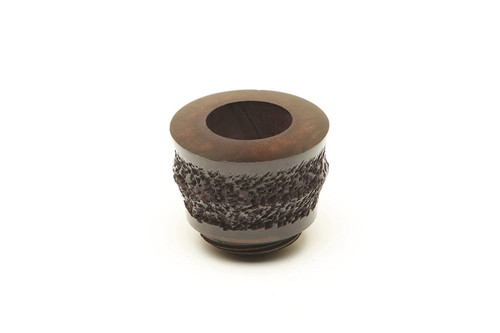 Falcon Plymouth Standard Ruticated Tobacco Pipe Bowl