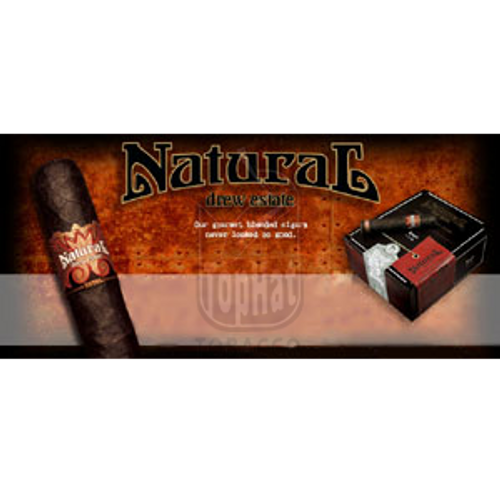 Drew Estate Natural Root Cigars - 5 x 55 (Box of 24)