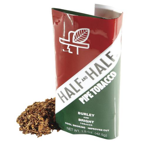 Half and Half Pipe Tobacco | 1.5 OZ POUCH - 12 COUNT