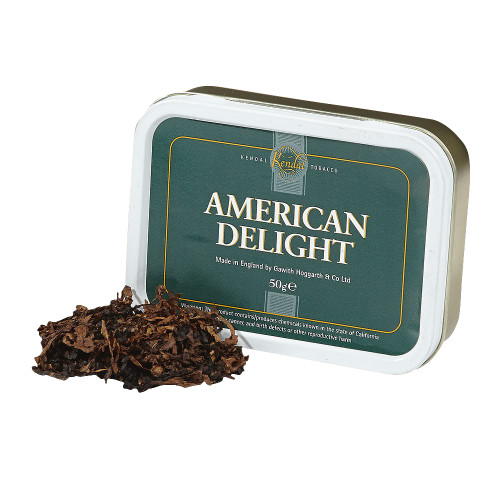 Gawith & Hoggarth American Delight Pipe Tobacco   1.75 OZ TIN